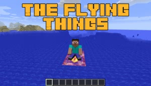 The Flying Things - ковер самолет, метла [1.15.2] [1.14.4] [1.13.2] [1.12.2]