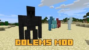 Golems Mod [1.12.2]