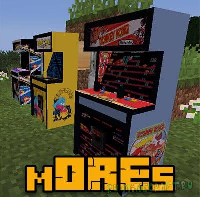 mOREs mod - новые руды и вещи [1.12.2]