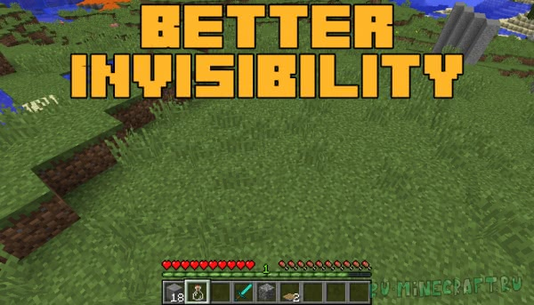 Better Invisibility [1.12.2] [1.12.1]