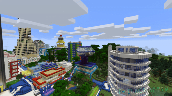 Connected cities [1.13] [1.12.2]
