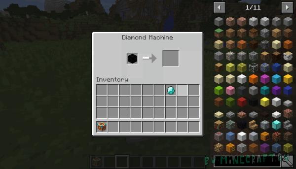 Coal Processing Machine - алмазы из угля [1.12.2] [1.11.2]