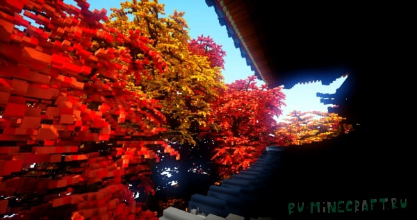Fall - удивительная японская башня [1.12.2+]