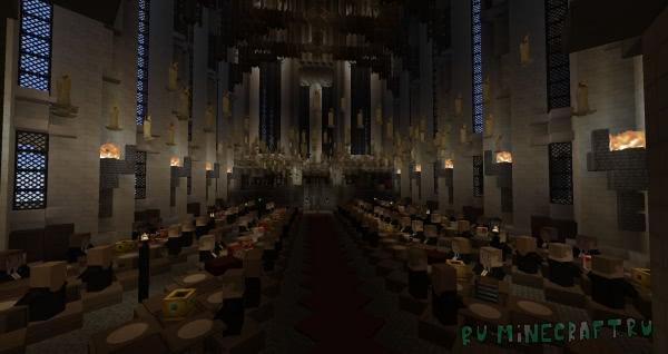 Harry Potter in Minecraft - мир Гарри Поттера в Майнкрафт [1.12.2]