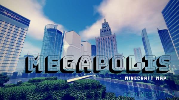 Megapolis - нереально детализированный мегаполис! [1.13] [1.12]