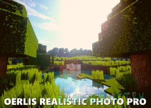 Oerlis Realistic Photo Pro - Реалистичные текстуры [1.15] [1.14.4] [1.12.2] [1.11.2] [128x] [256x]