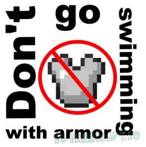 Don't go swimming with armor! [1.12.2]