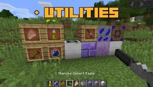 Plus Utilities - броня, оружие, разные вещи [1.12.2]