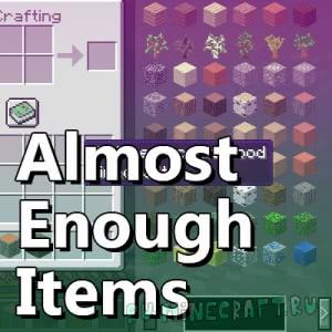 Almost Enough Items (AEI) - замена модов JEI и NEI [1.13]