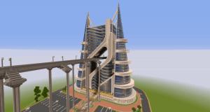 Hollow Hotel - огромнейший отель в Minecraft! [1.13] [1.12.2]