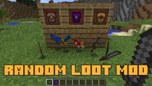 Random Loot Mod - рандомный лут [1.13.2] [1.12.2]