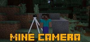 Mine Camera - реалистичный фотоаппарат [1.12.2] [1.10.2]