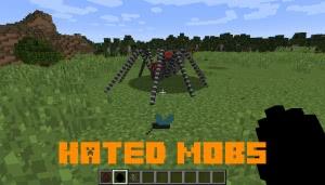 Hated Mobs - комары и пауки [1.12.2]