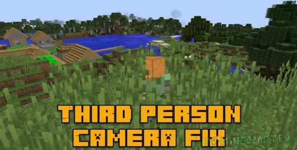 Third Person Camera Fix - листва не мешает [1.12.2]
