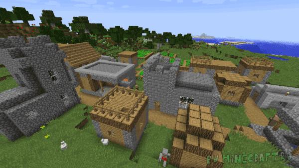 Coherent Villages - большие деревни [1.12.2]