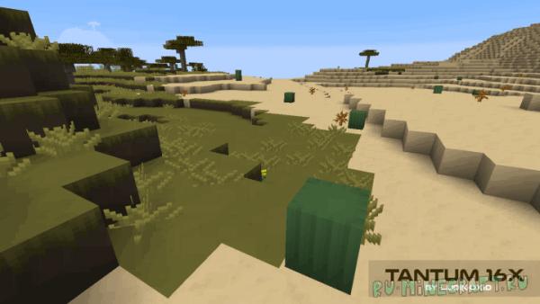 Tantum - гладкий приятный ресурспак [1.13.1] [1.13] [16x16]