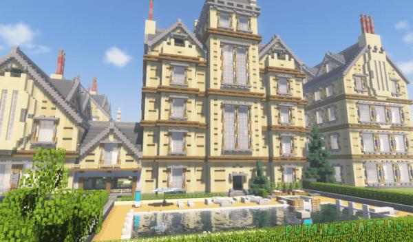 X-Mansion - поместье из людей икс [1.13.1] [1.13] [1.12.2]