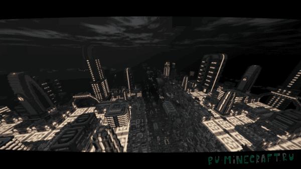 Coruscant - Galactic City - город будущего [1.13.1] [1.13] [1.12.2]