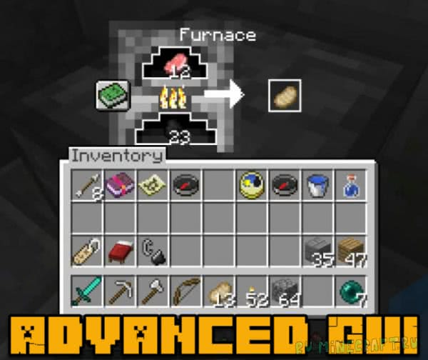 Advanced GUI - необычный вид интерфейсов [1.13.1] [1.12.2]