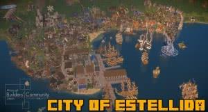 City of Estellida - карта города на берегу моря [1.12.2]