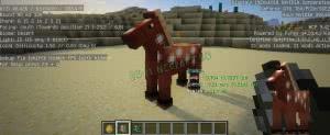 Horse Debug Info - информация о лошади [1.16.1] [1.15.2] [1.12.2] [1.11.2] [1.10.2]