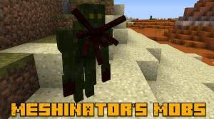 Meshinator's Mobs - мобы, кровосос [1.12.2]