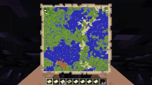Mega Map - большой масштаб карты [1.14.4] [1.12.2]