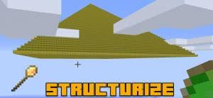 Structurize - копирование структур, быстрое изменение мира [1.16.5] [1.15.2] [1.14.4] [1.12.2]