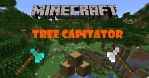 Датапак TreeCapitator - руби дерево ломая нижний блок [1.13.2] [1.13]