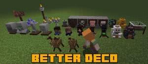 Better Deco - статуэтки, декоративные предметы [1.12.2]