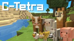 C-tetra - красочный ресурспак [1.13.1] [1.12.2] [1.11.2] [1.7.10]