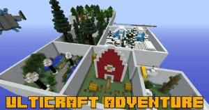 UltiCraft Adventure - набор мини игр [1.12.2]