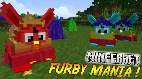Furby Mania - фёрби теперь и в майнкрафт [1.8] [1.7.10]