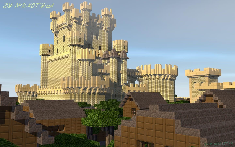 Карта на grow castle в майнкрафт 1.7.10