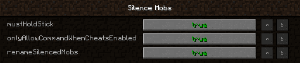 Silence Mobs - заглушаем мобов [1.12.2] [1.11.2]