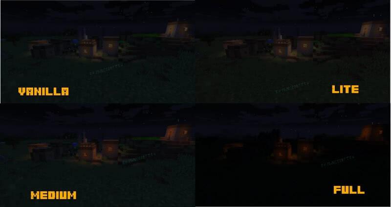 Pixel Reality - Luminance - эффекты освещения [1.16.3] [1.15.2] [1.14.4] [1.12.2] [1.11.2] [1.7.10]