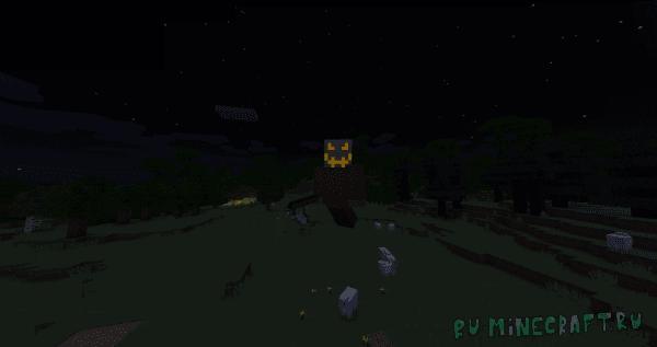 Harvester's Night - босс в начале игры [1.12.2]
