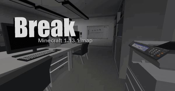 Break - карта с демонстрацией дата паков [1.13.1]