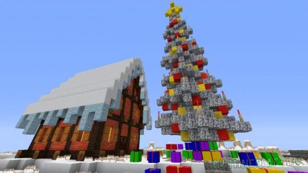 Zedercraft Christmas HD - новогодний ресурспак [1.16.3] [1.15.2] [128x] [256x]
