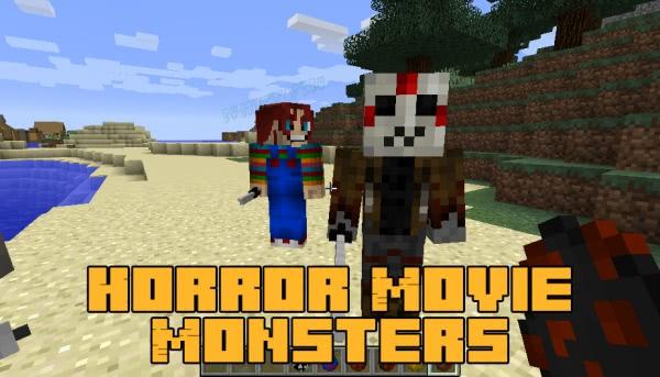 Horror Movie Monsters - известные убийцы из фильмов [1.16.5] [1.15.2] [1.14.4] [1.12.2]