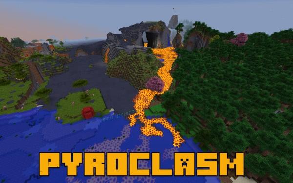 Pyroclasm - реалистичные вулканы [1.12.2]