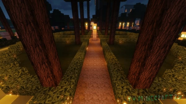Huge Mansion and Gardens - большое здание и сады [1.13.1] [1.13]
