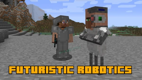 Futuristic Robotics Mod - роботы и киборги [1.12.2]