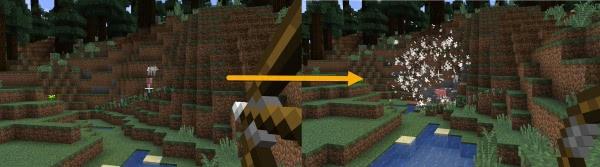 TNT Arrows - взрывающаяся стрела [1.13.2] [1.13] [Датапак]