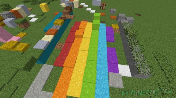 Block Layering - ковры по типу снега [1.16.3] [1.15.2] [1.14.4] [1.12.2]