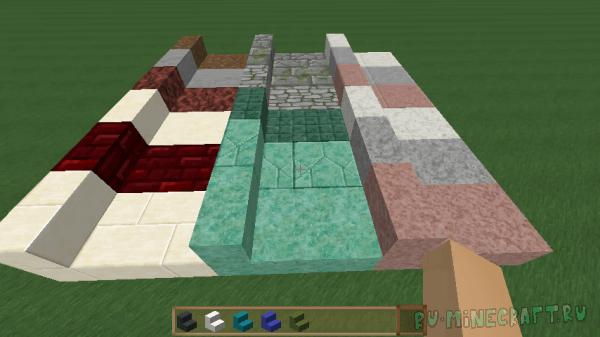 Absent by Design - ванильные блоки из новых материалов [1.16.1] [1.15.2] [1.14.4] [1.12.2]