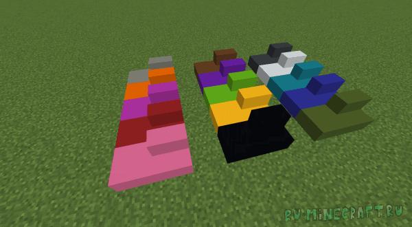 Absent by Design - ванильные блоки из новых материалов [1.12.2]