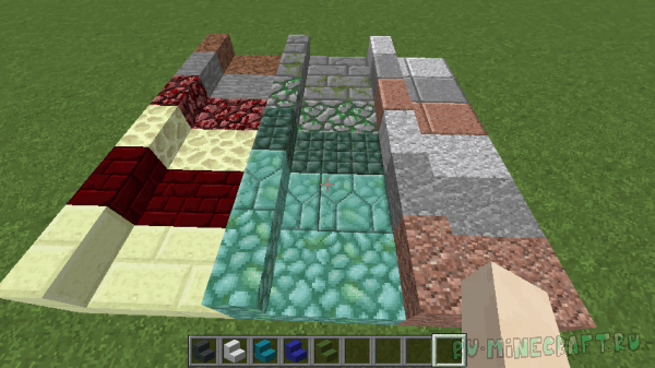 Absent by Design - ванильные блоки из новых материалов [1.16.5] [1.15.2] [1.14.4] [1.12.2]