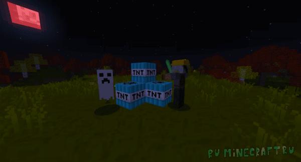 NickyB1106's Halloween - ресурспак под хэллуин [1.13.2] [16x16]