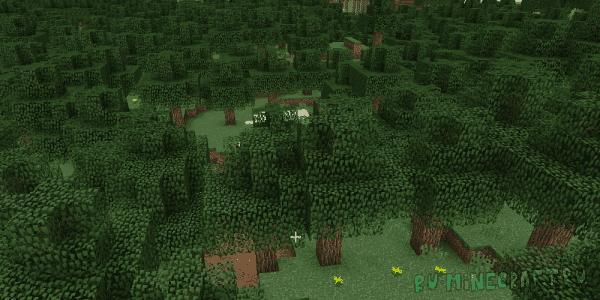 Zoesteria Biomes - новые реалистичные биомы [1.12.2]
